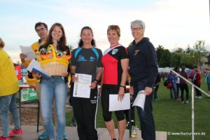Krackenlauf 2016 Mannschaftspreis Frauen